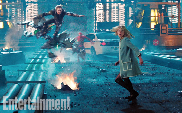 the amazing spider-man 2 ew05