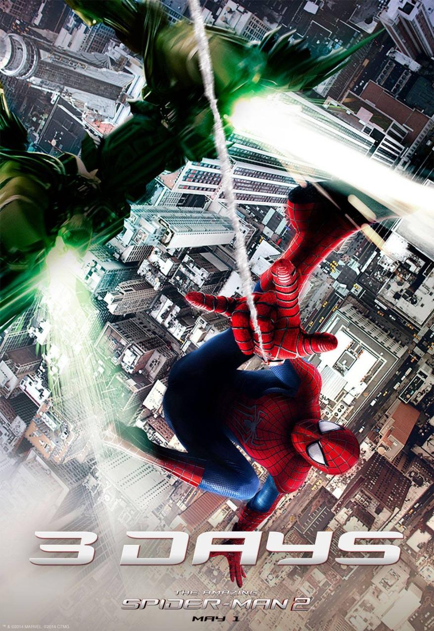 the amazing spider-man 2 green goblin promo