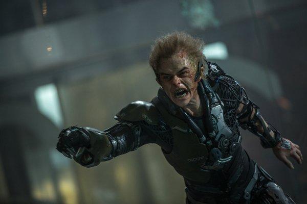 the amazing spider-man 2 green hoblin shot