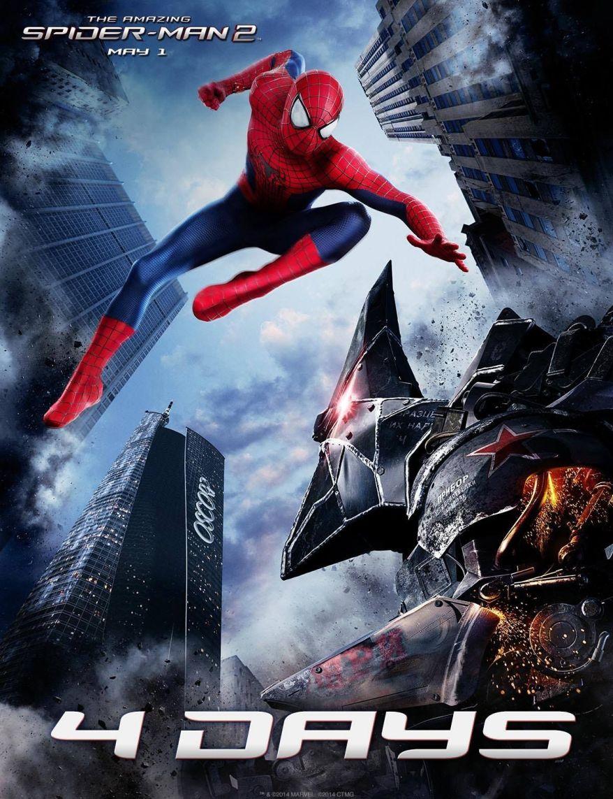 the amazing spider-man 2 rhino promo