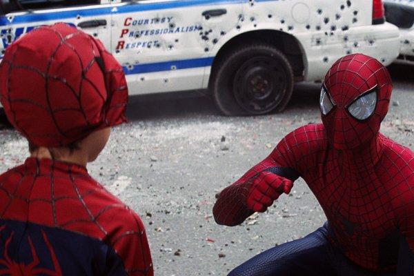 the amazing spider-man 2 spidey kid