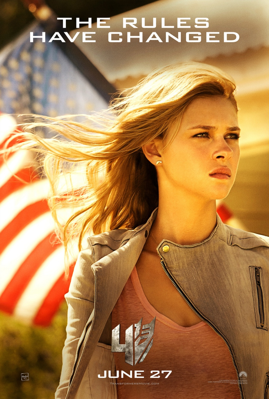 transformers age of extinction nicola peltz poster