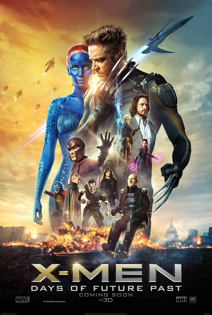 xmen days of future past full poster
