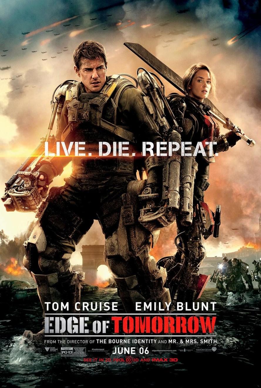 edge of tomorrow final poster