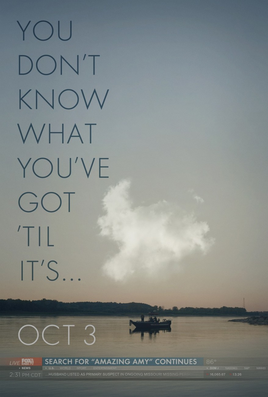 gone girl first poster