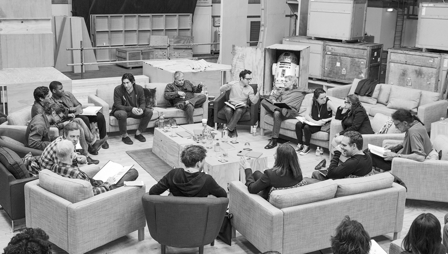 StarWarsEpisodeVII main cast