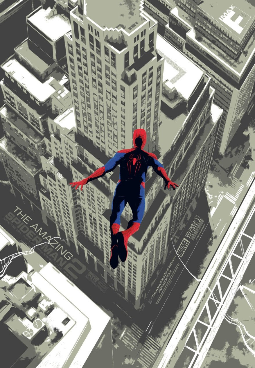 the amazing spiderman 2 imax poster