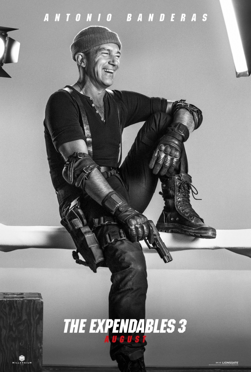 the expendables 3 antonio poster