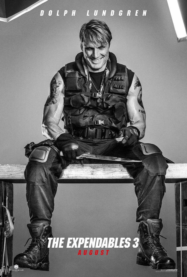 the expendables 3 dolph poster