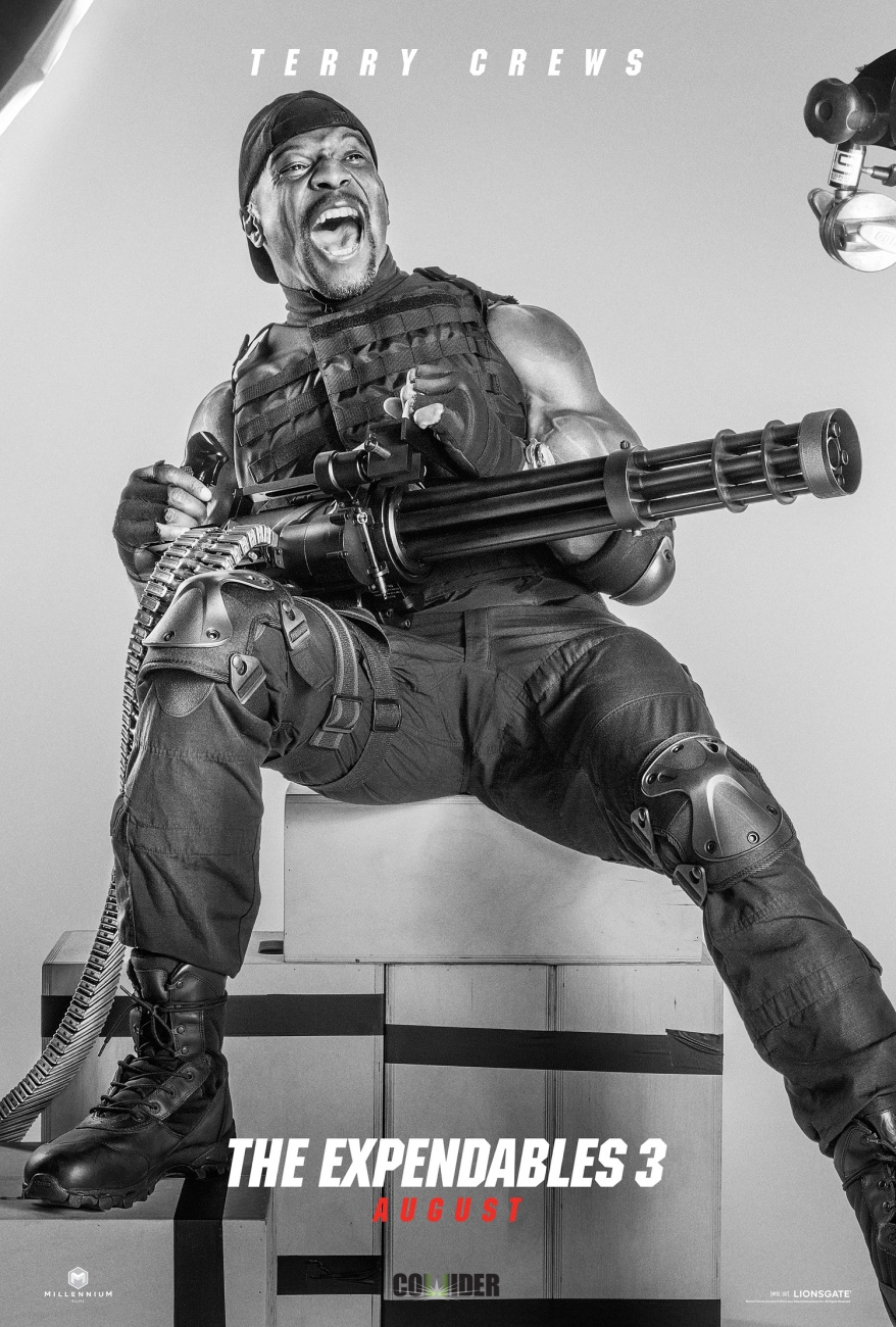 the expendables 3 terry poster