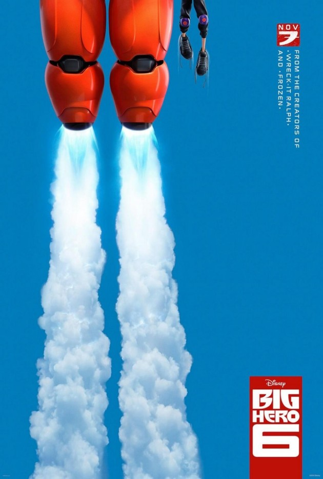big hero 6 first poster