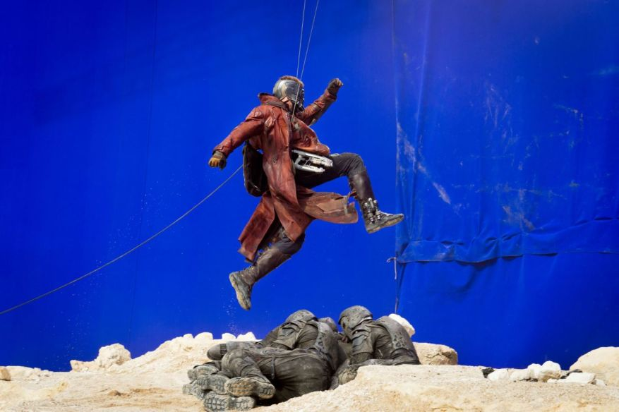 Guardians of the Galaxy behind the scene image 02