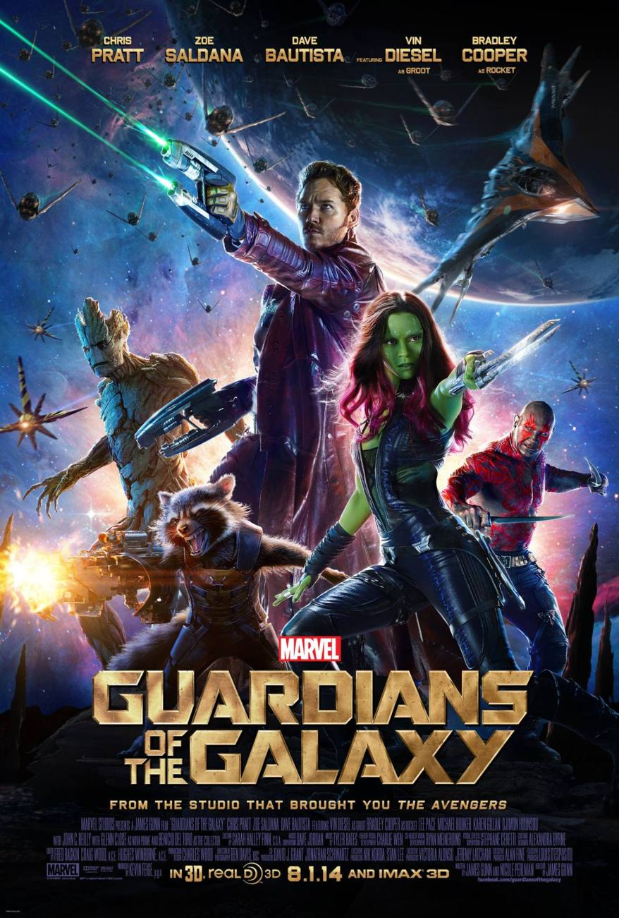 Guardians of the Galaxy new poster big