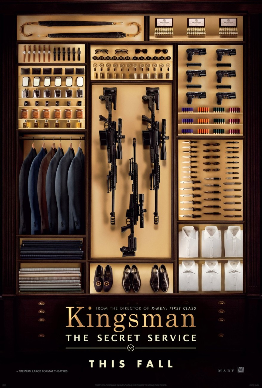 kingsman the secret service teaser poster