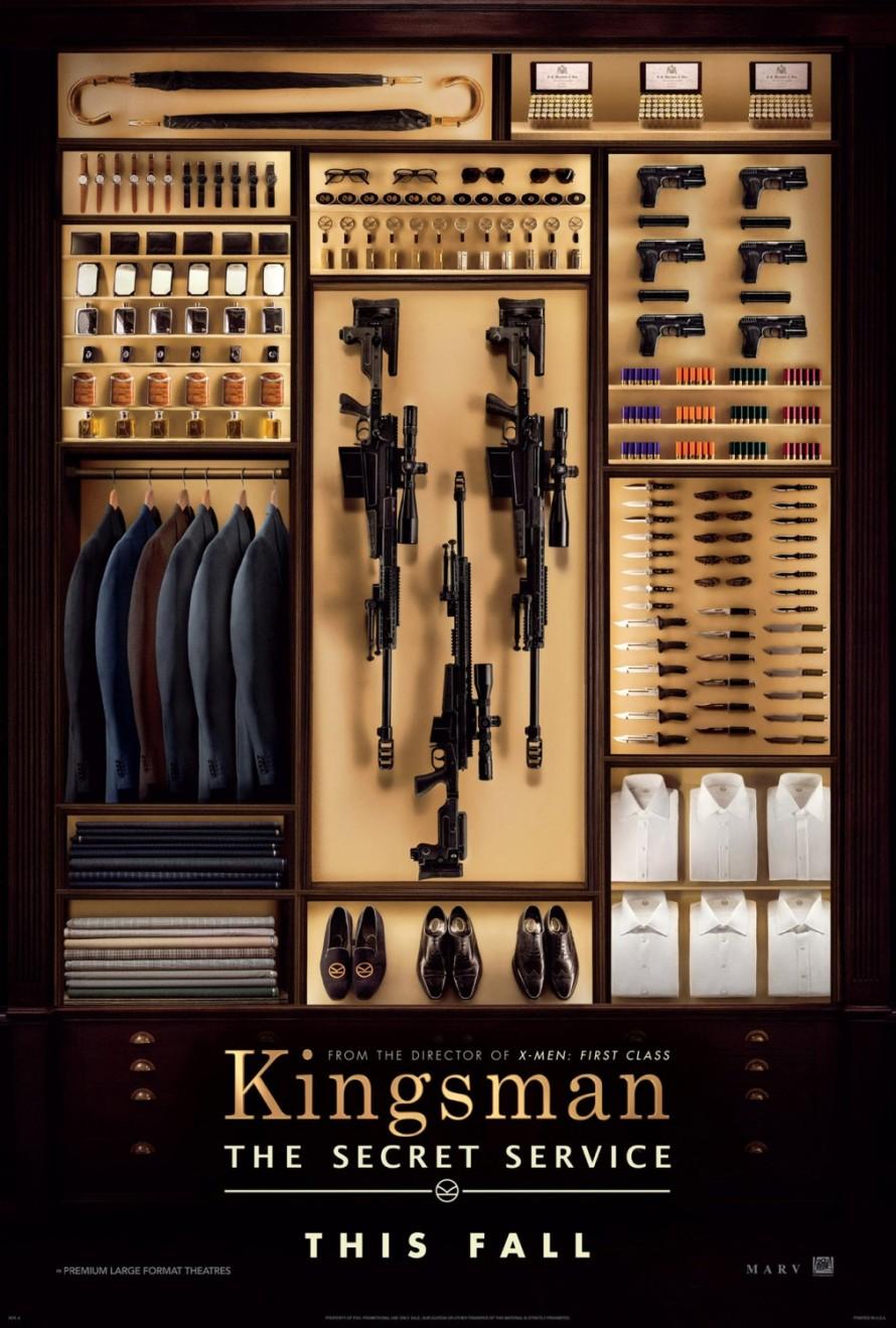 kingsman the secret service teaser poster