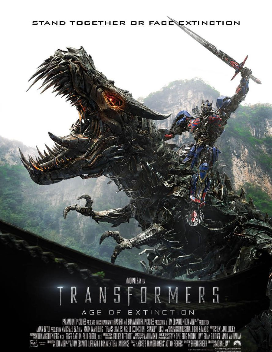 transformers Grimlock Optimus one sheet