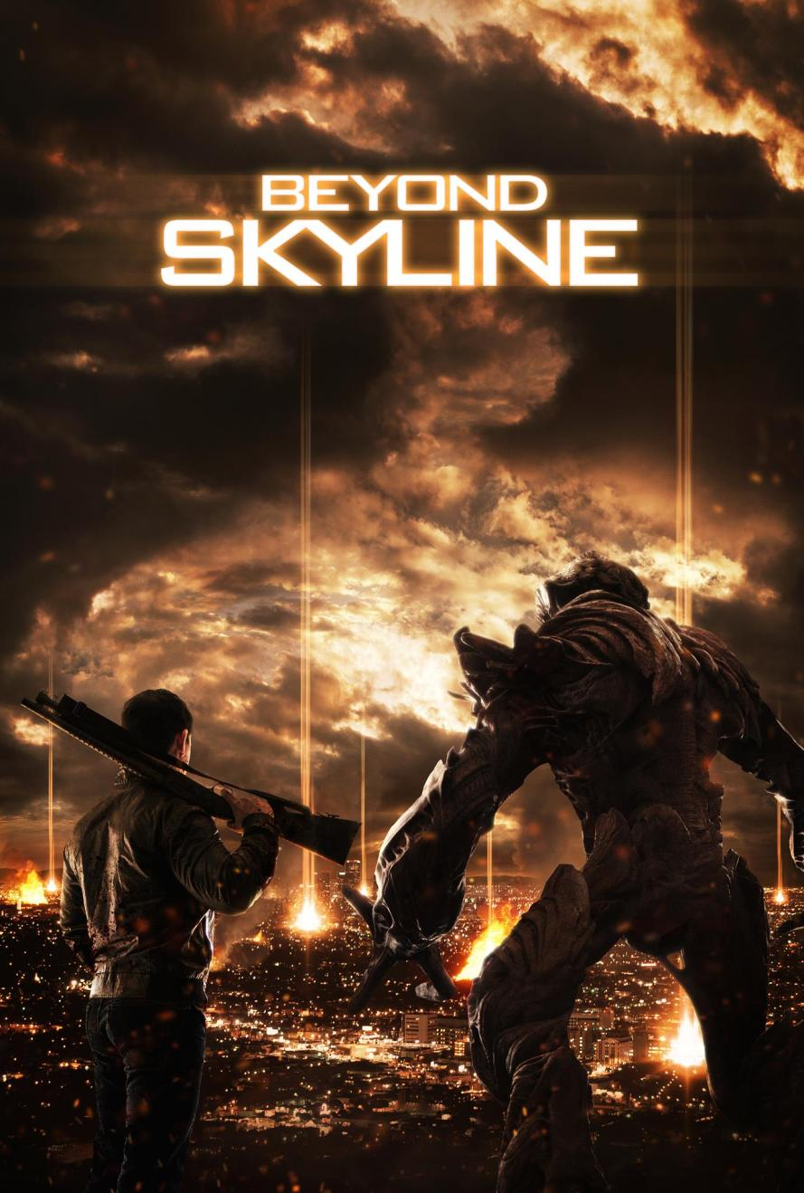beyond skyline teaser poster