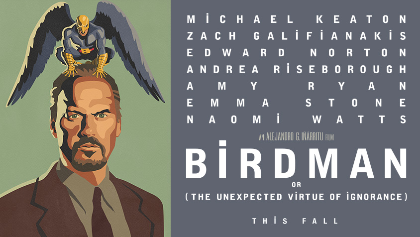 birdman teaser banner