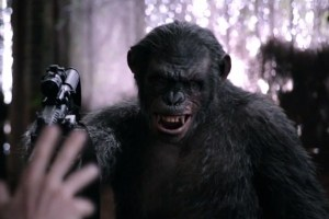 dawn of the planet of the apes clips