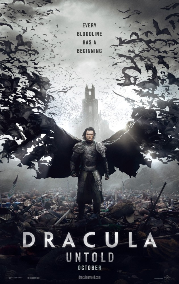 Dracula Untold first poster us