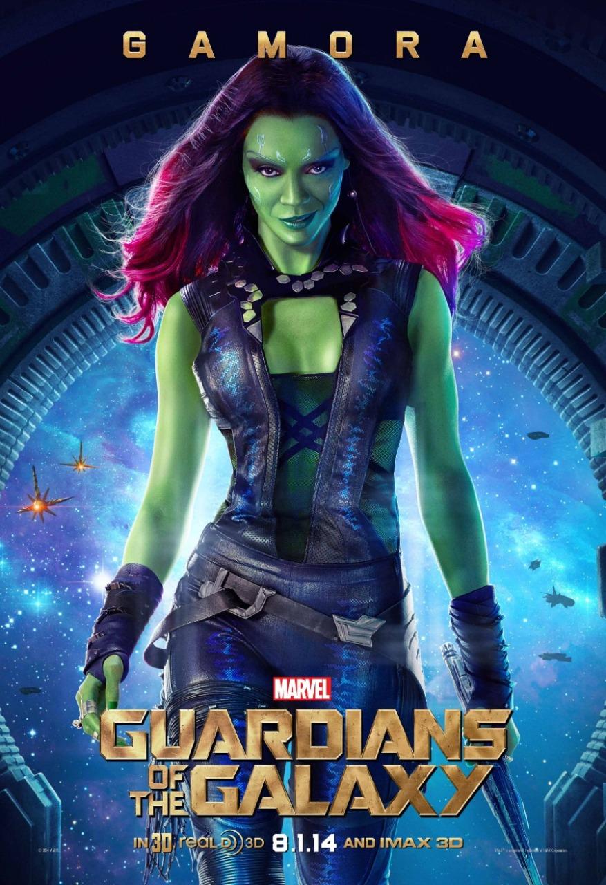 gamora gotc poster