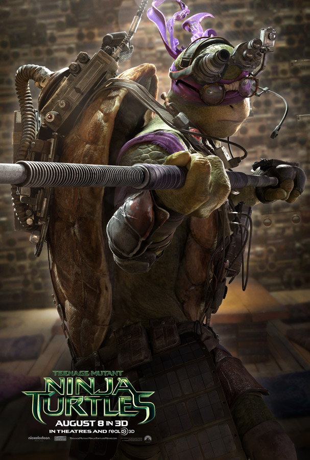 teenage mutant ninja turtles donnatello poster