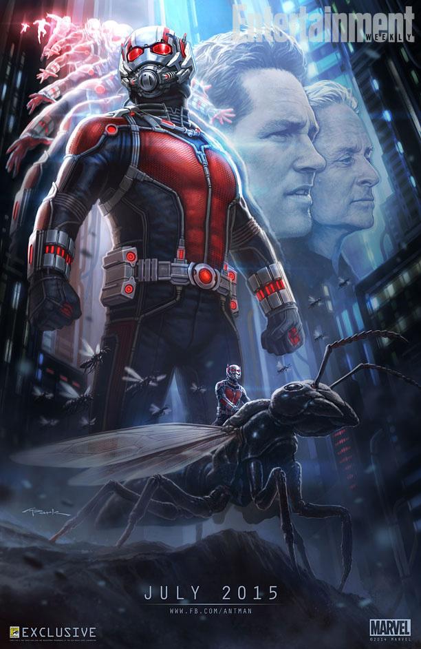 antman comic con poster