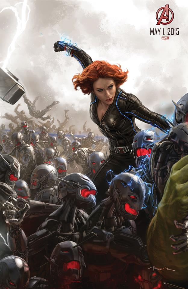 avengers age of ultron comiccon poster 03