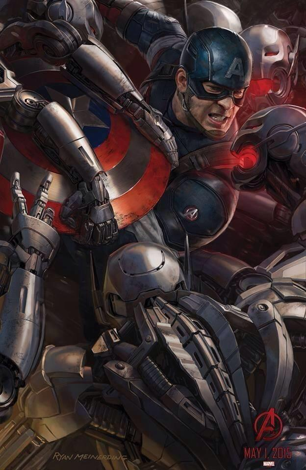 avengers age of ultron comiccon poster 04