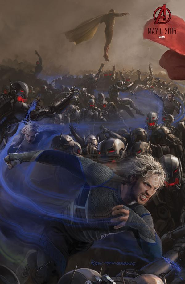 avengers age of ultron comiccon poster 06