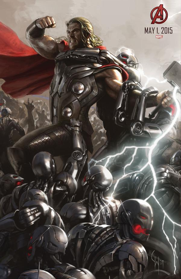 avengers age of ultron comiccon poster 07