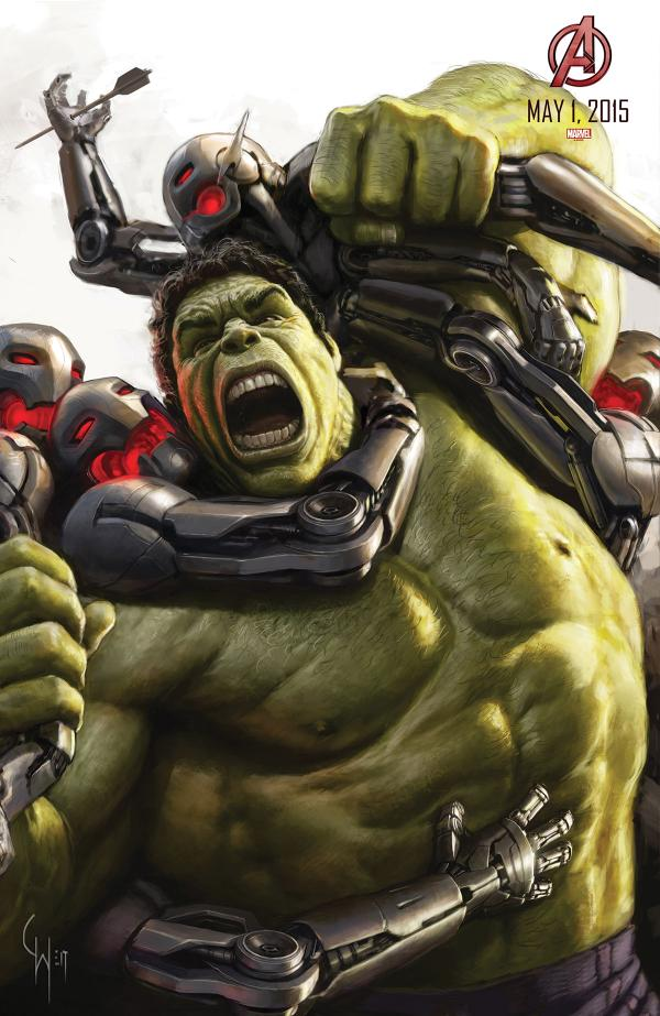 avengers age of ultron comiccon poster 08