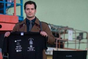 henry cavill batman v superman set