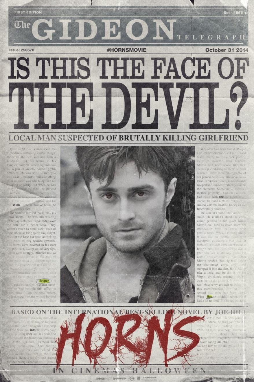 horns teaser poster