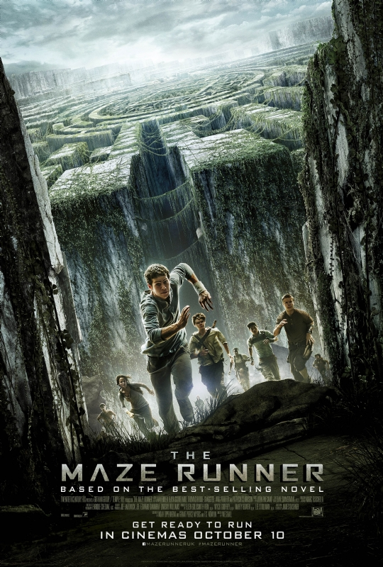 the maze runner uk poster
