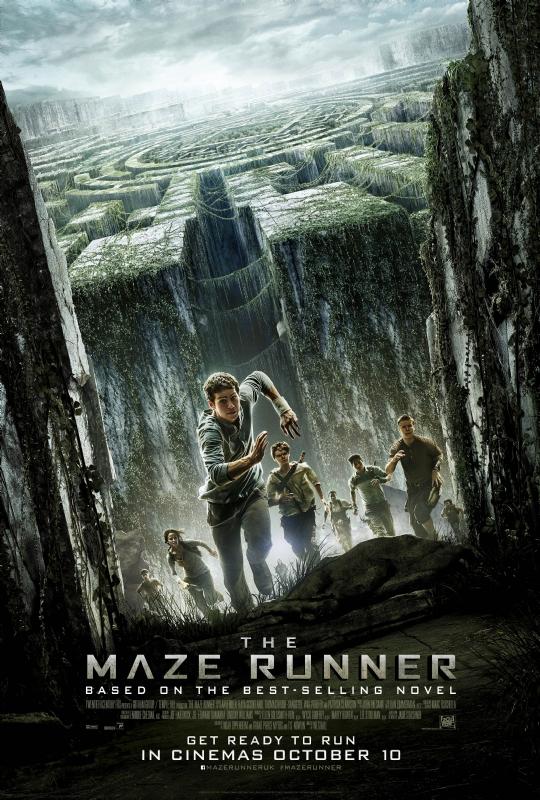 the maze runner uk poster