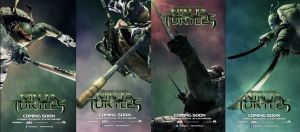 tmnt moving posters