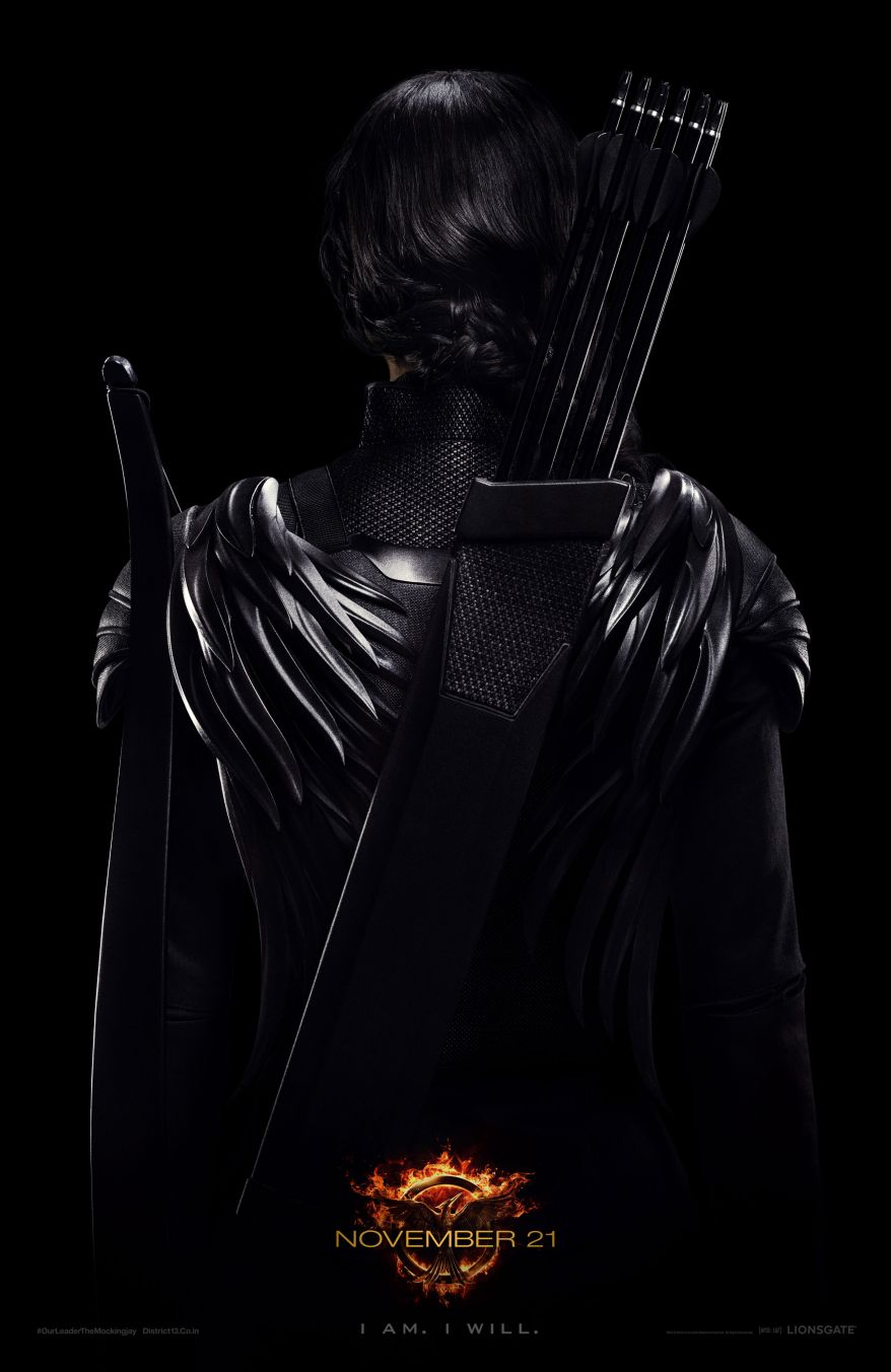 The Hunger Games MockingJay Part Warrior poster