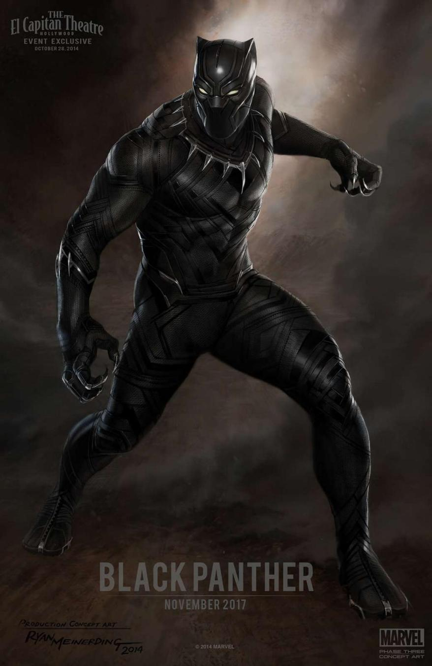 black panther art big