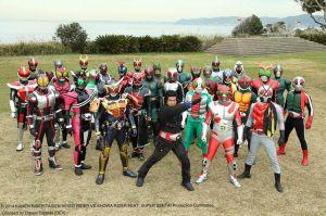 Heisei Rider vs Showa Rider 01