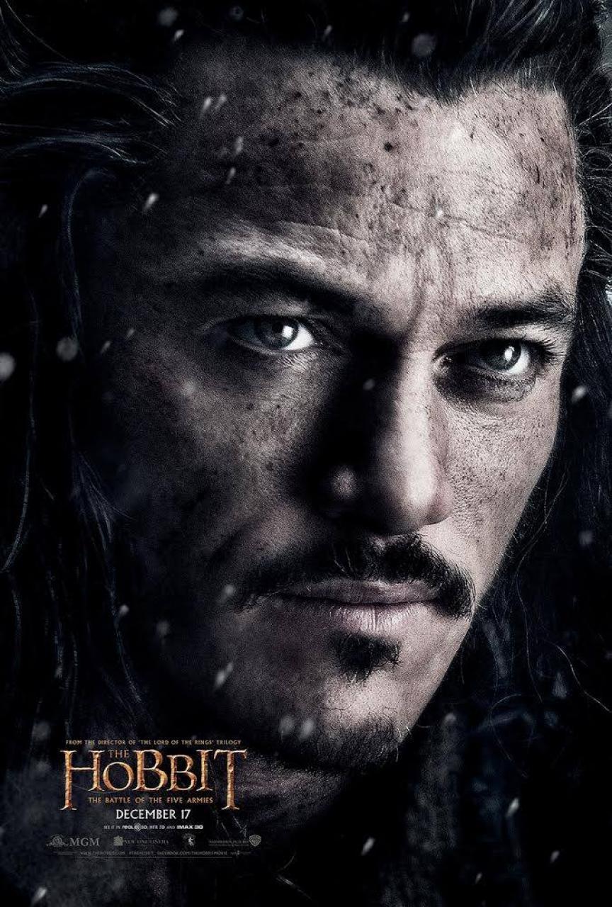 hobbit 3 bard poster