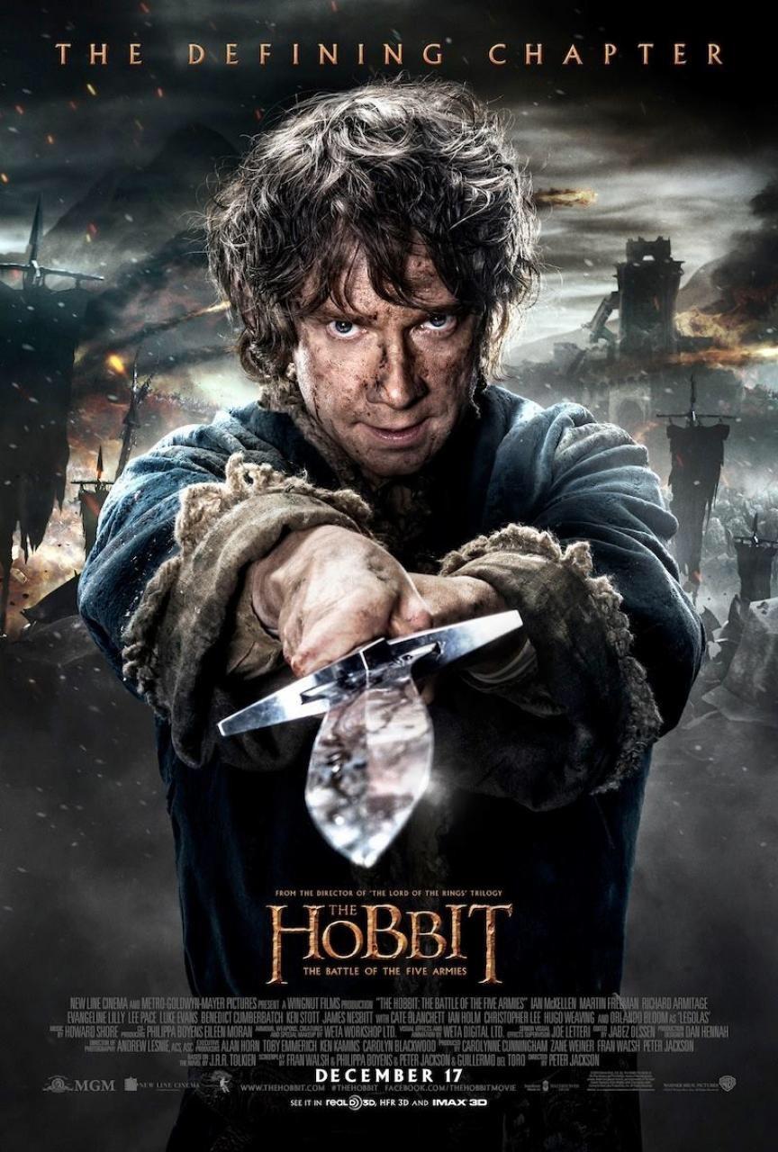 hobbit 3 bilbo poster