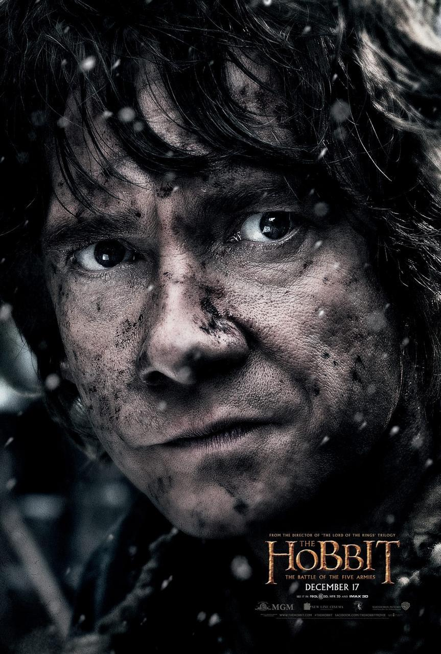 the hobbit 3 bilbo poster