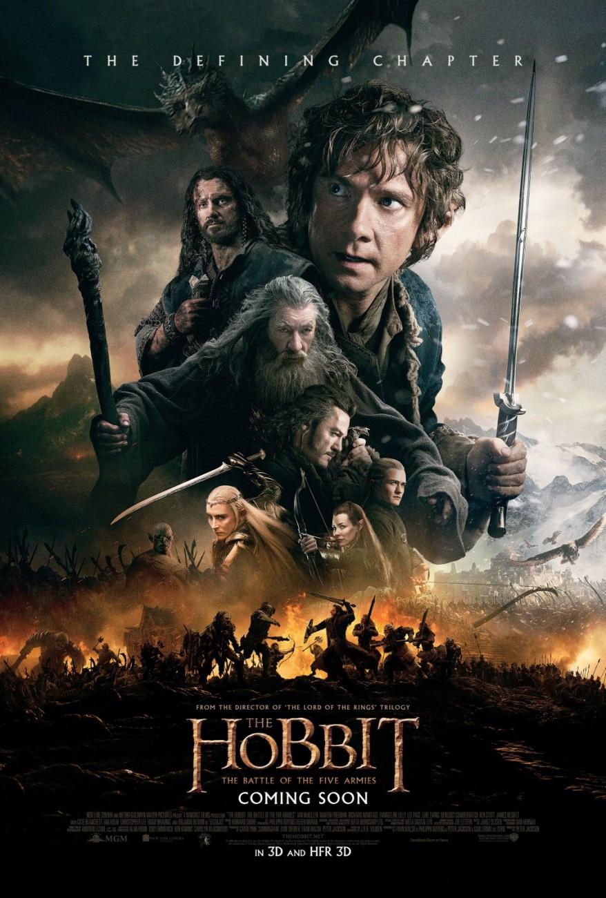 the hobbit 3 final poster