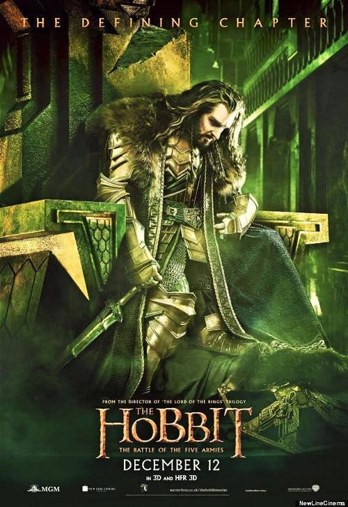 the hobbit 3 poster 01