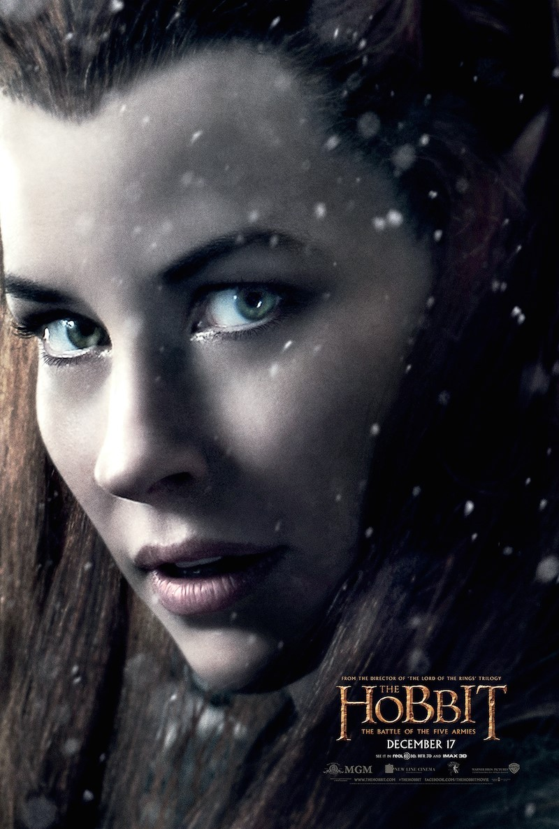 the hobbit 3 Tauriel poster