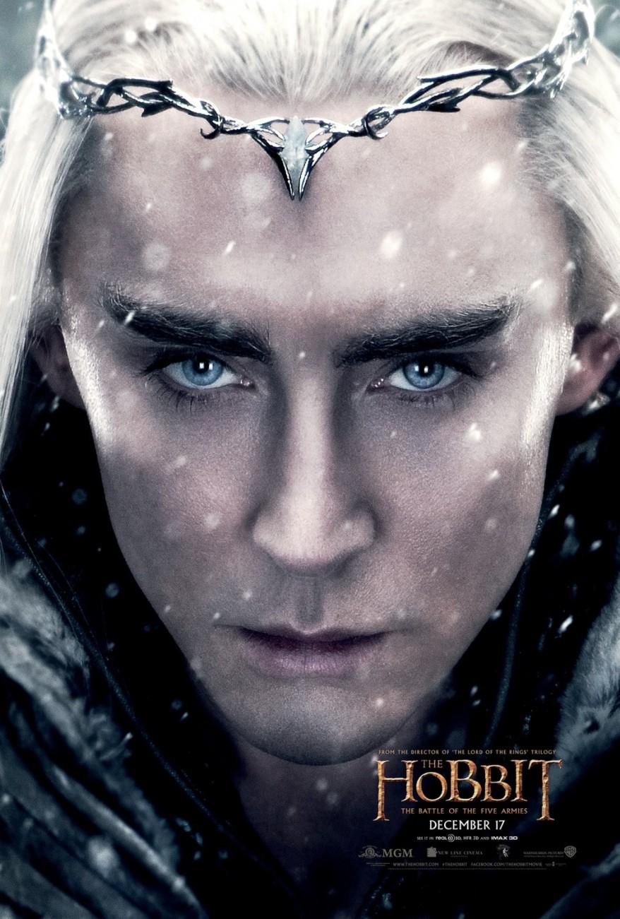 the hobbit 3 Thranduil poster