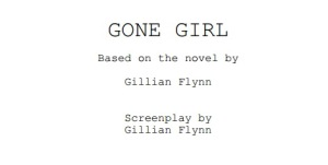 gone girl script