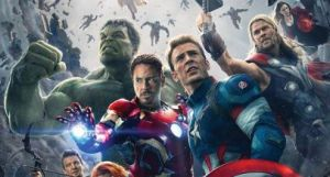 Avengers Age of Ultron official poster header