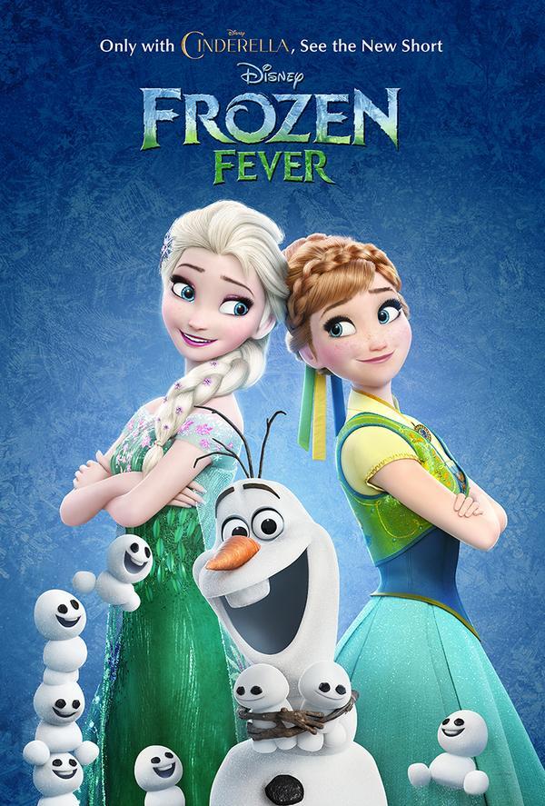 frozen fever poster big